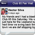 Mobile Apps - Fan Wall
